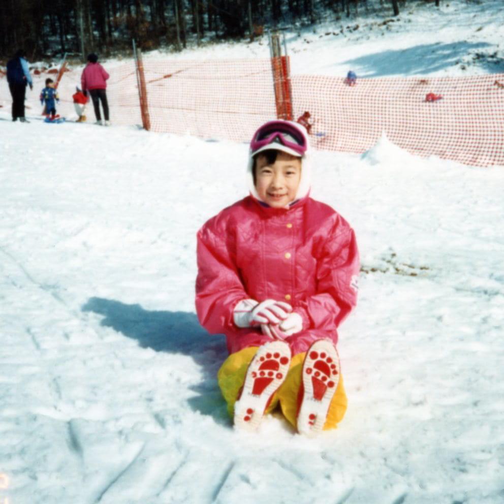 吉良よし子 子ども時代 スキー